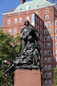 Confederate Women's Monument, Bishop's Park, Charles Street and University Parkway, Baltimore, 2015. Photography by C. Ryan Patterson; courtesy Baltimore Office of Promotion & The Arts.